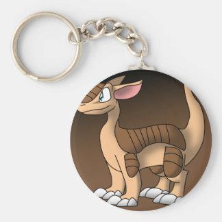 Bältdjurdrake Keychain Rund Nyckelring
