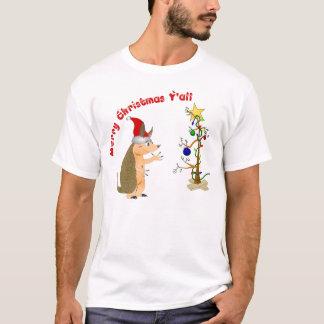 Bältdjurgod julskjorta t shirt