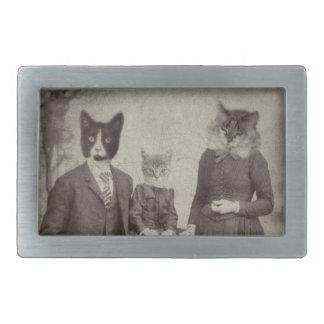 Bältet för rektangeln för kattfamiljpicknicken spä