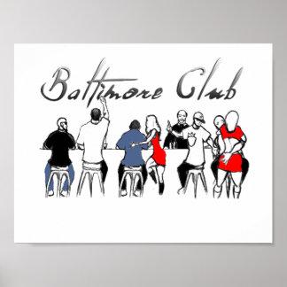 Baltimore klubbmusik poster