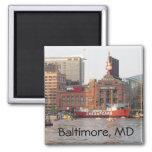Baltimore MD-magnet Kylskåpmagneter