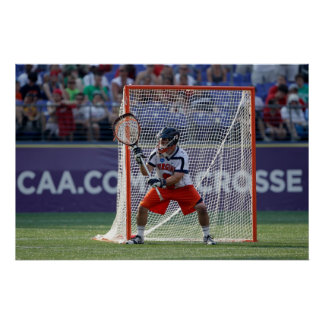 BALTIMORE MD - MAJ 30:  Goalie Adam Ghitelman Poster