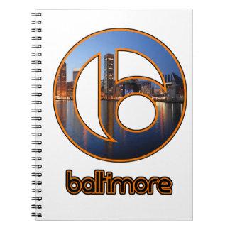 Baltimore saker antecknings bok