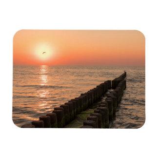 Baltisk solnedgång magnet