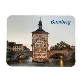 Bamberg överbryggar det gammala stadshuset och magnet