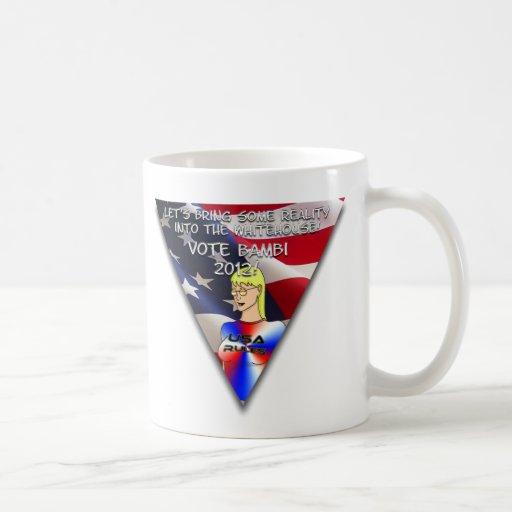 Bambi för presidentkaffemugg kaffe mugg