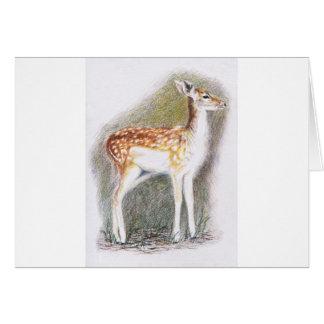Bambi Hälsningskort
