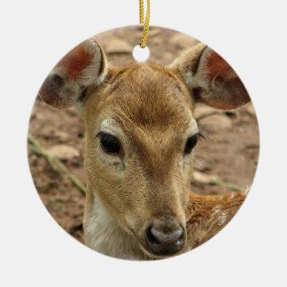 Bambi hjortprydnad jul dekorationer