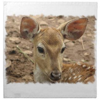 Bambi hjortuppsättning av fyra servetter