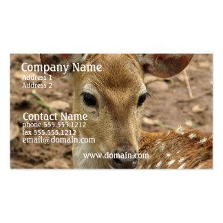 Bambi hjortvisitkort visitkort mallar