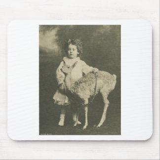 bambi och barn mus matta