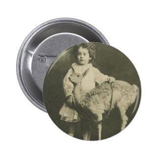 bambi och barn standard knapp rund 5.7 cm