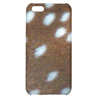 Bambi vit pricker på brun päls iPhone 5C skydd