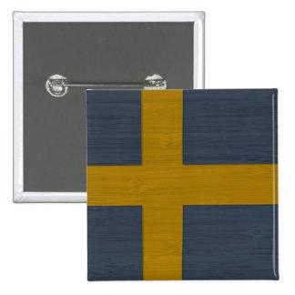 BambuLook & inristad svensk Sverige för sverige fl Pins
