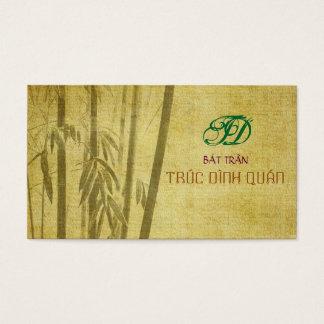 Bambustil Visitkort