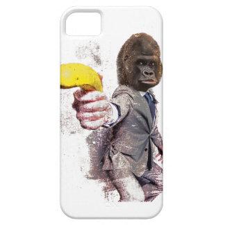 Banan för apa för Wellcoda rolig gorillakostym iPhone 5 Fodraler