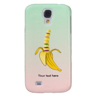 Banan för tecknad för gay pridesupporterdesign galaxy s4 fodral