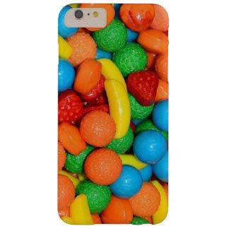 Banan-, jordgubbe- och limefruktgodis barely there iPhone 6 plus fodral
