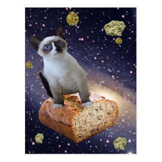 bananbröd kat vykort