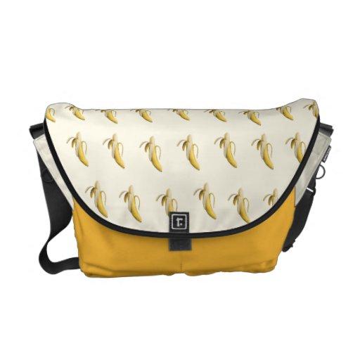 Bananmönster - beställnings- messenger bag