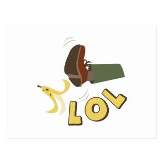 BananPeel LOL Vykort