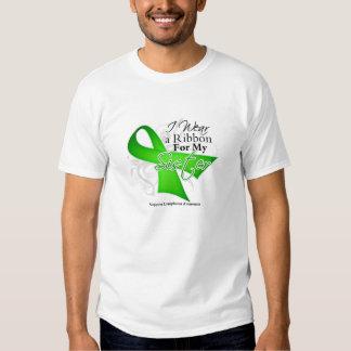 Band för systerlimefruktgrönt - lymfkörtelcancer t shirt