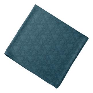 Bandana för blåttFleur-de-lis mönster