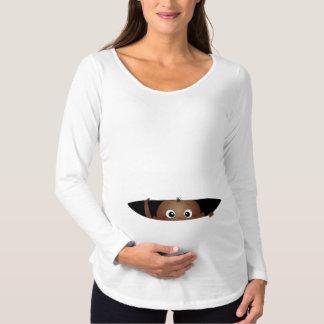 Bändande upp bebis tee shirt
