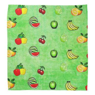 Bandanna för för limefruktgröntfrukter och scarf
