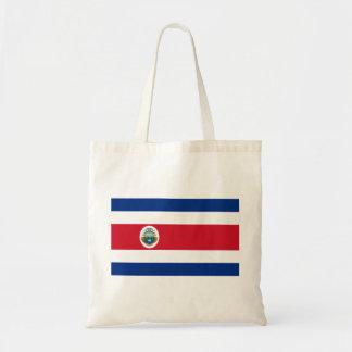 Bandera de Costa Rica - flagga av Costa Rica Budget Tygkasse