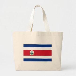 Bandera de Costa Rica - flagga av Costa Rica Jumbo Tygkasse