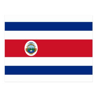 Bandera de Costa Rica - flagga av Costa Rica Vykort