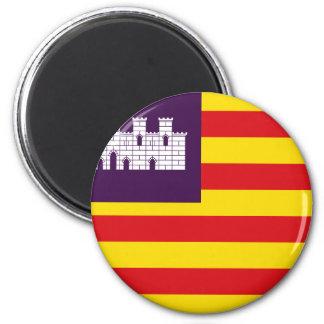 Bandera Islas Baleares - flagga Balearic Island Magnet