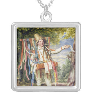 Bandsäljare, 1874 silverpläterat halsband