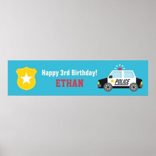 Baner för party för barns födelsedag för