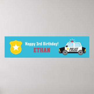 Baner för party för barns födelsedag för poster