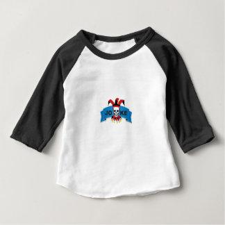 baner för skämtblåttdöd tee shirts