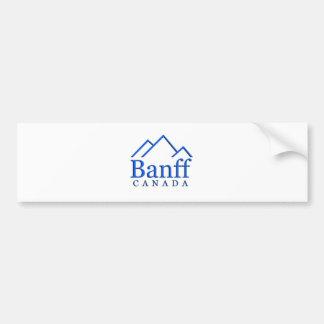 Banff nationalparklogotyp bildekal