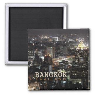 Bangkok Thailand natt reser souvenirmagneten Magnet