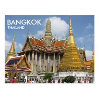 Bangkok Thailand Wat Phra Kaew smaragd Buddha Vykort