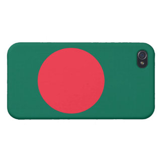 Bangladesh flagga iPhone 4 fodral