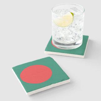 Bangladesh flagga stenunderlägg
