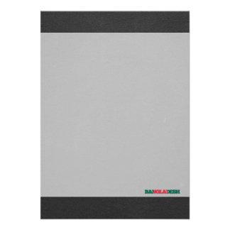 Bangladesh flaggastilsort 12,7 x 17,8 cm inbjudningskort