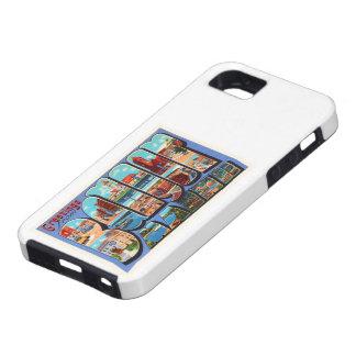 Bangor Maine MIG gammal vintage resorsouvenir iPhone 5 Case-Mate Fodral