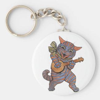 Banjo som leker katten rund nyckelring