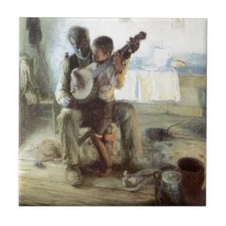 Banjokursen Kakelplatta