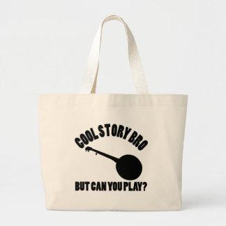 Banjovektordesigner Tote Bags