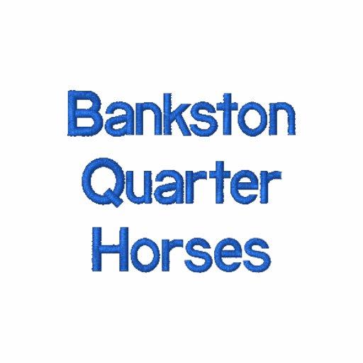 Bankston inkvarterar hästar polo tröja