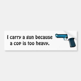 Bär ett vapen bildekal