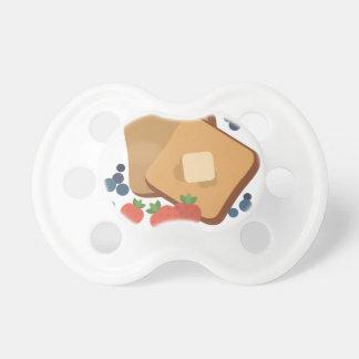 Bär & rostat bröd napp